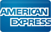 american express on a navy blue background